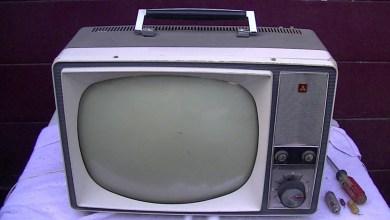 panasonic black and white tv 1962