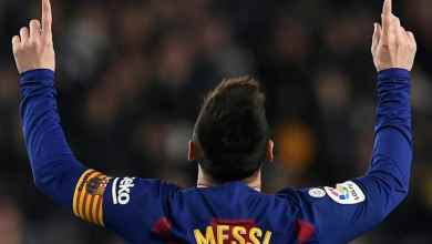 بعد كرته الذهبية السادسة تابع ميسي ابداعه مع برشلونة في مباراة مايوركا