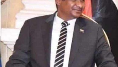 محمد حمدان حميدتي نائب رئيس مجلس السيادة