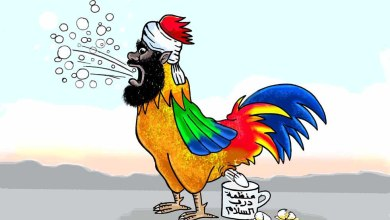 الدكتور مهران .. من خطيب الميدان إلى أيقونة الخذلان ... كاريكاتير عمر دفع الله