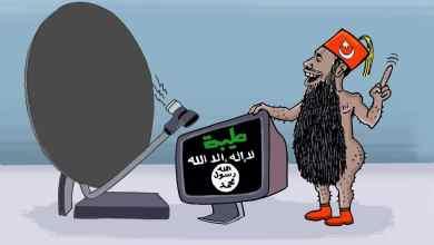 تركيا تعيد الحياة لقناة طيبة ... كاريكاتير