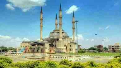 مسجد مجمع النور كافوري الخرطوم