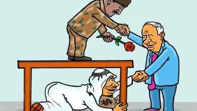 دول خليجية خلف لقاء نتنياهو والبرهان ... كاريكاتير عمر دفع الله