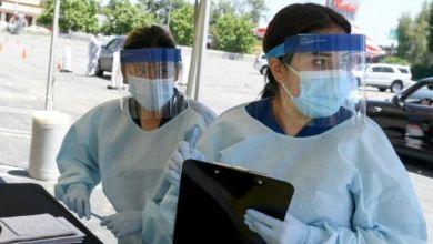 عمال في قطاع الصحة Getty