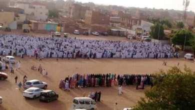 صلاة العيد في السودان مايو 2020