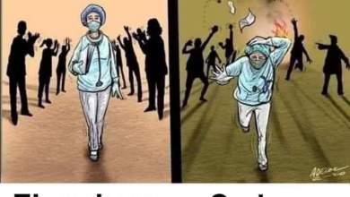 مأساة الاطباء في السودان