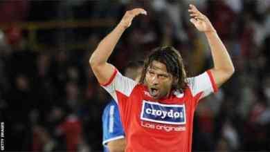 اشتهر غيراردو بيدويا بالحصول على بطاقات حمراء أكثر من أي لاعب كرة قدم آخر GETTY IMAGES