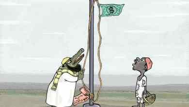السودان والدولار ... كاريكاتير عمر دفع الله