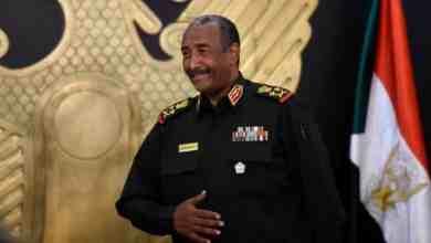 رئيس مجلس السيادة السوداني عبد الفتاح البرهان AFP