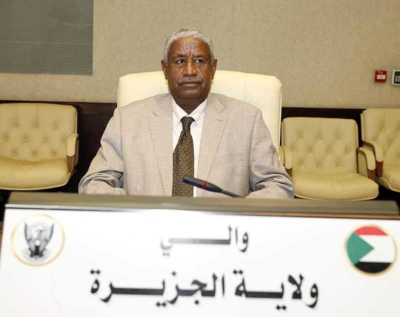 الدكتور عبد الله إدريسالكنينوالي ولاية الجزيرة