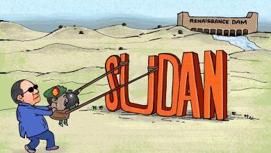 الحرب مع أثيوبيا ... كاريكاتير عمر دفع الله