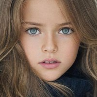 World's 8-year-old super model from Russia