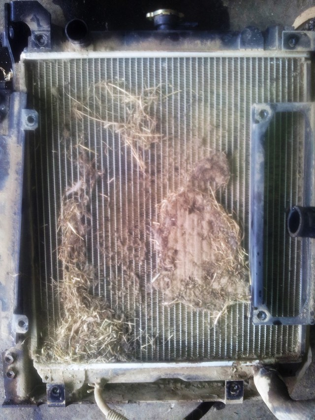 Blocked Radiator CX50B