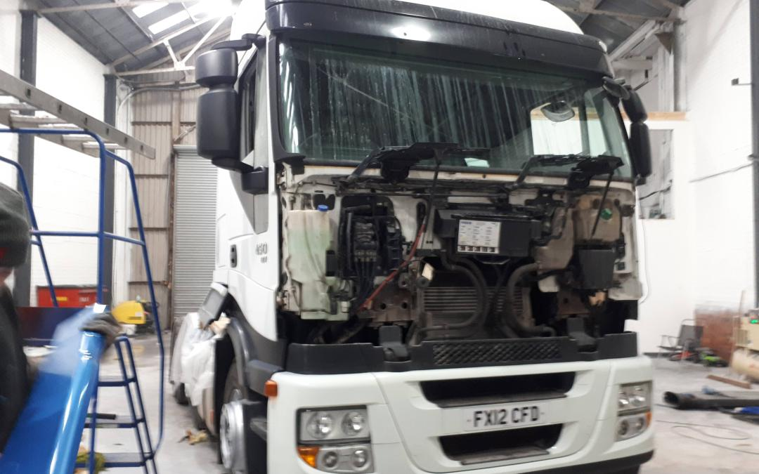 IVECO CHASSIS AND CAB