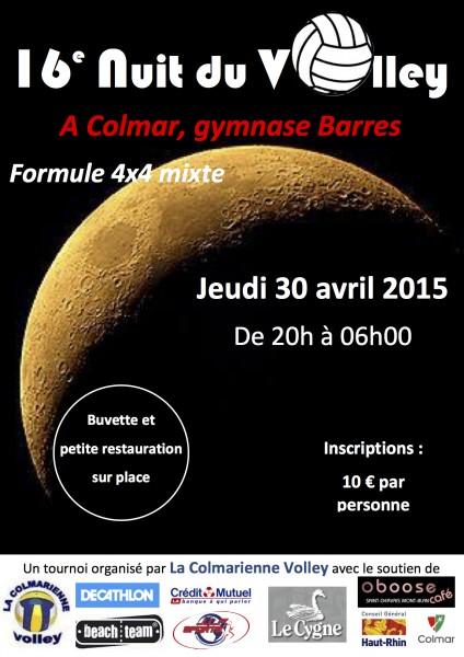 Nuit du Volley 2015 - Colmar
