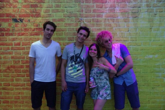 Kissamilé après leur concert à la FAV2015