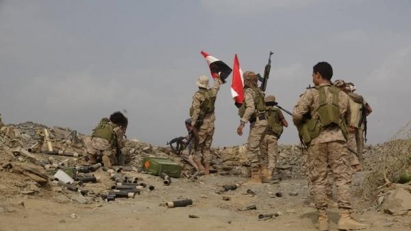 مقتل وجرح العشرات من المليشيا الانقلابية شرق باقم في صعدة