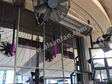 pivot fans for restaurant