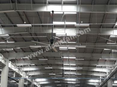 steel hangar hvls fans