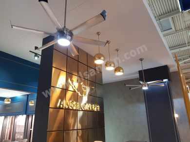 Profan Istanbul - Angel Carpet Lobby Ceiling Fan 08