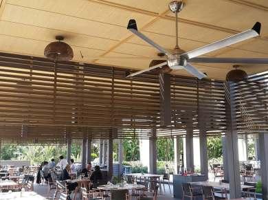 Profan İstanbul - Maxx Royal Restoran Tavan Vantilatörü ve Tavan Pervanesi 02