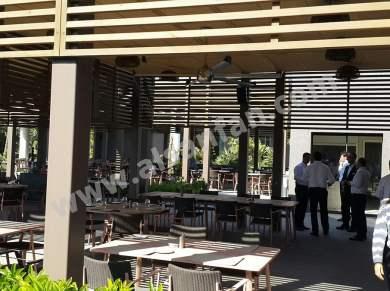 Profan İstanbul - Maxx Royal Restoran Tavan Vantilatörü ve Tavan Pervanesi 07