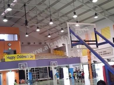 Spor Salonu Tavan Vantilatörleri, Spor Salonu Tavan Fanları Uygulaması