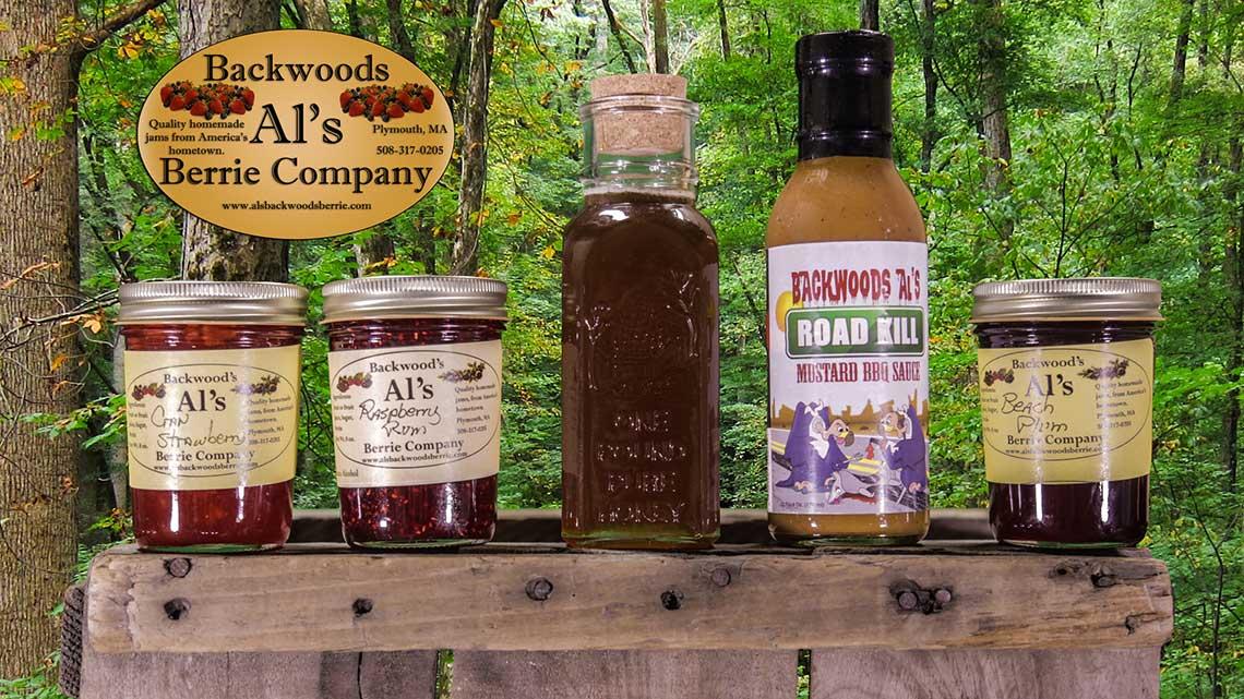 Al's Backwoods Berrie Co  – Homemade Jams From America's