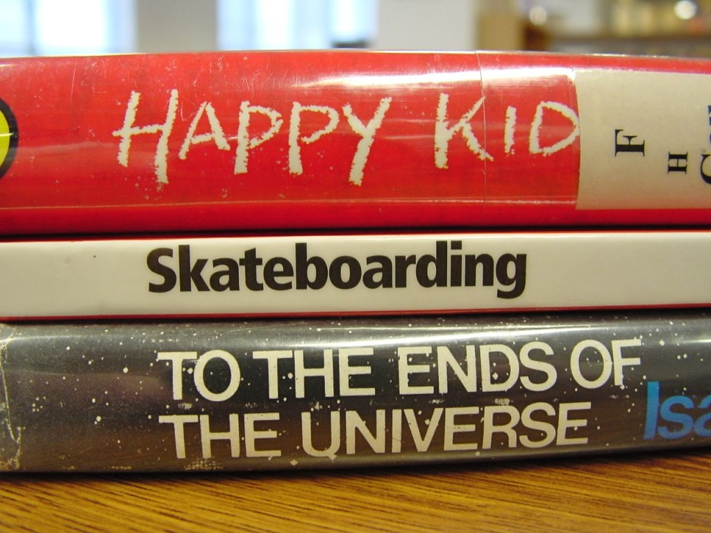 National Poetry Month Is Better With Book Spine Poems
