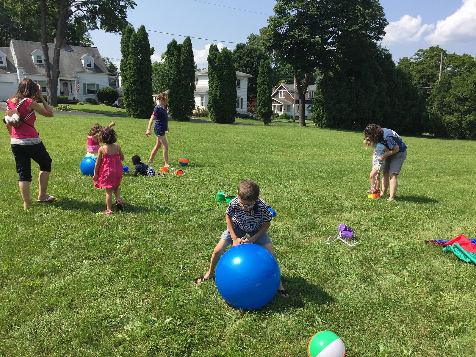 Outdoor Picnic Games