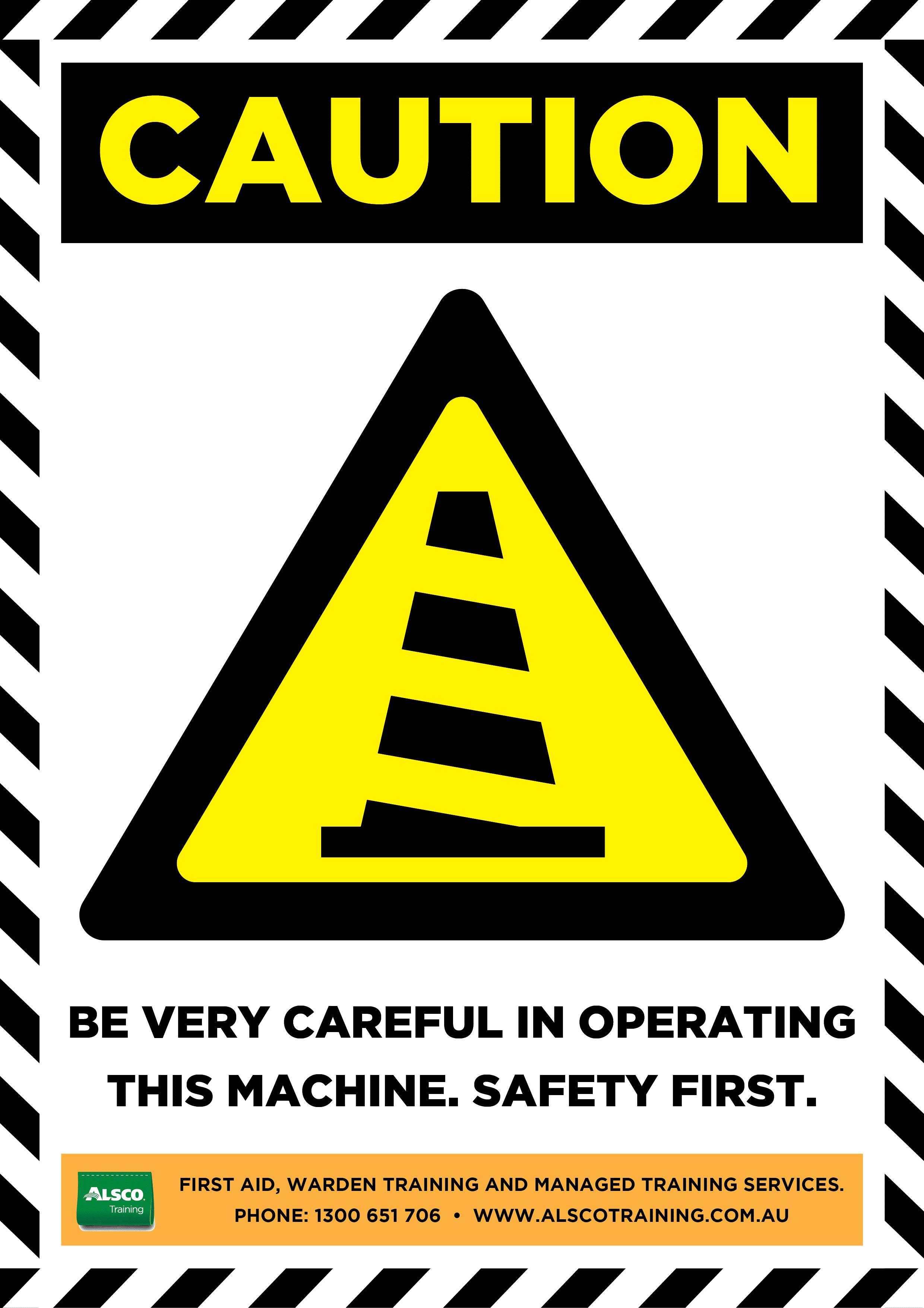 Caution Sign Posters