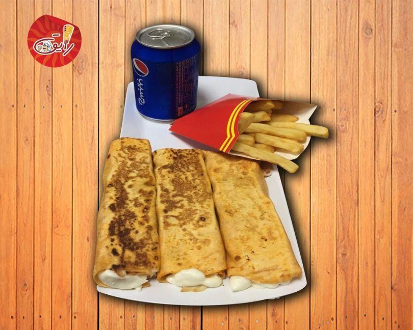 أكلات مطعم رايق 4 الخبر