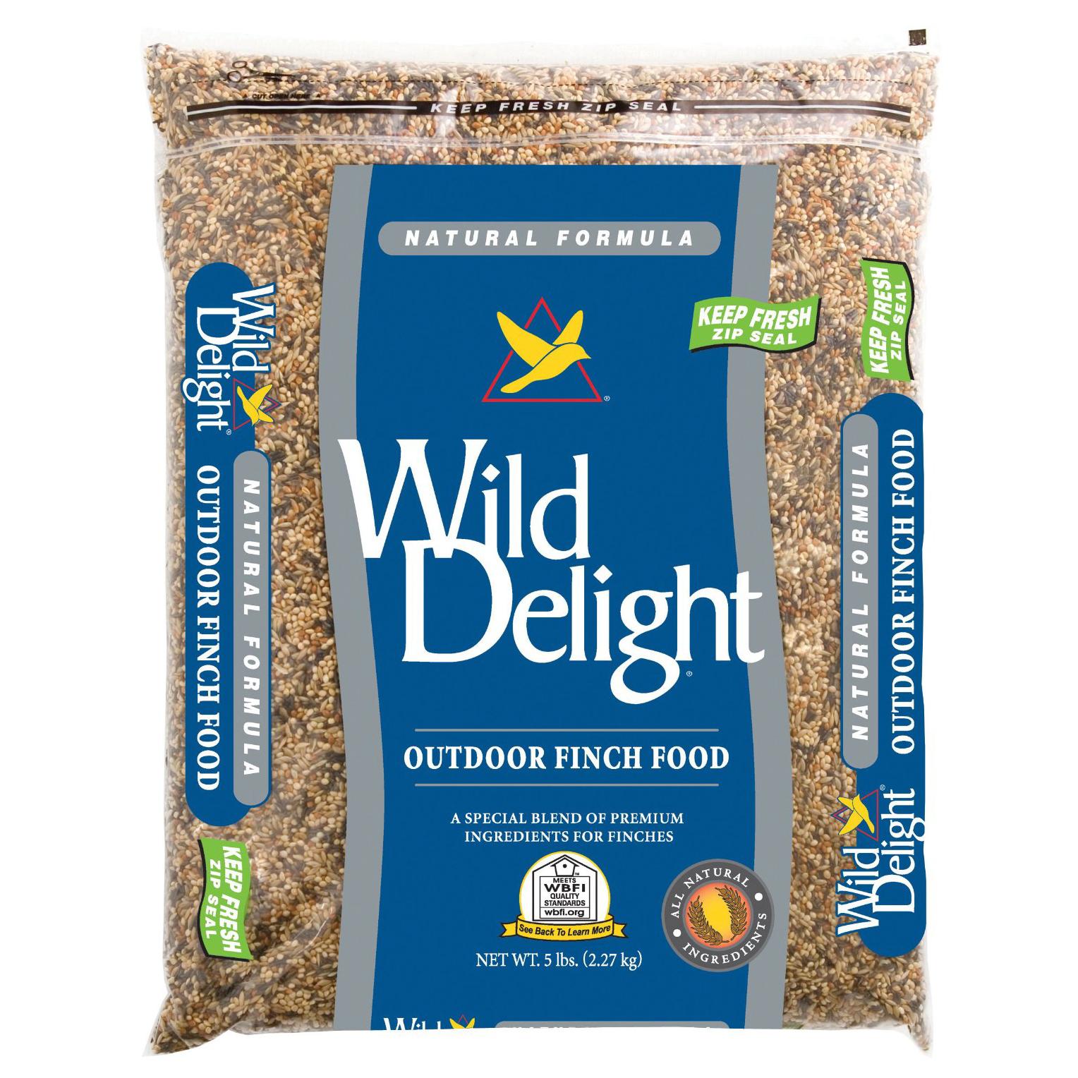 wild delight outdoor finch food 5 lb