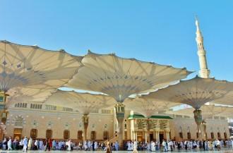 Masjid Nabawi à Médine - Arabie Saoudite