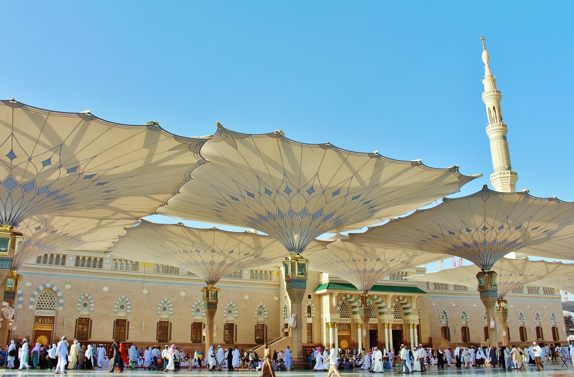 Masjid Nabawi Médine