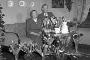 Jenny och Manne Sjödin. Farmor fyller 60 år!