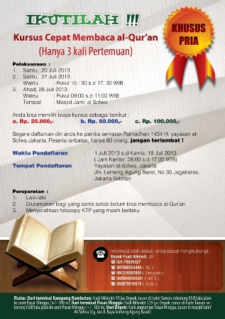 Kursus Cepat Membaca al-Qur'an