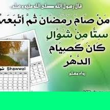 Keutamaan Shiyam Enam Hari Di Bulan Syawal
