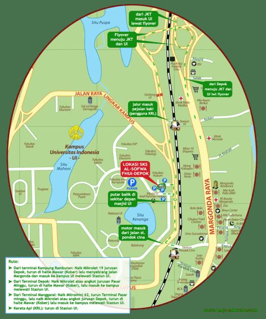 Peta Lokasi SKS