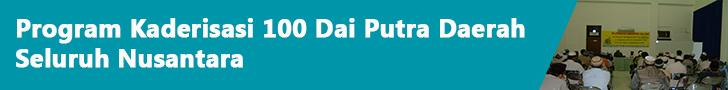 Kaderisasi 100 Dai Putra Daerah
