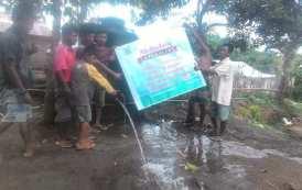 Pemasangan Jalur Perpipaan di Tanakbisa Lombok Utara