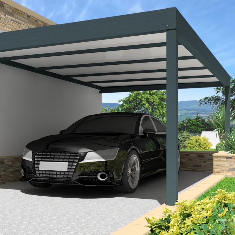 carport architect thermotop en aluminium