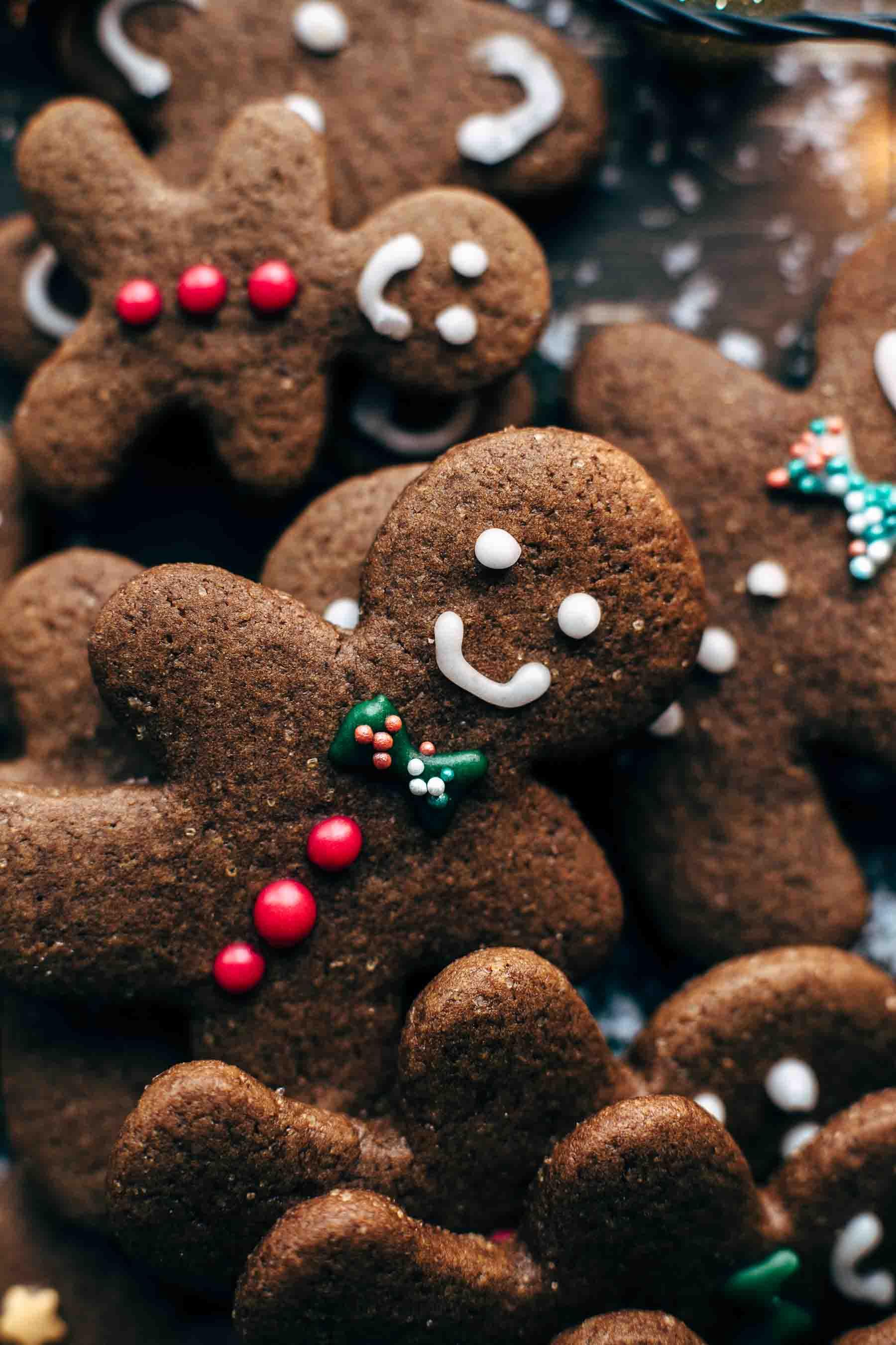 Easy Gingerbread Men Cookies Recipe