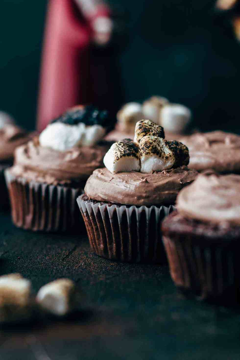 Perfect Hot chocolate Cupcakes