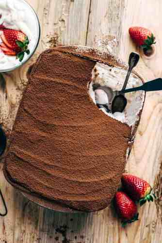 Chocolate Strawberry Tiramisu