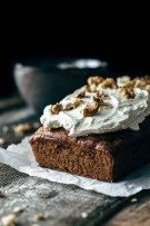 Carrot Cake Loaf with Cream Cheese Frosting