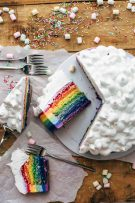 Colorful Rainbow Cake Recipe