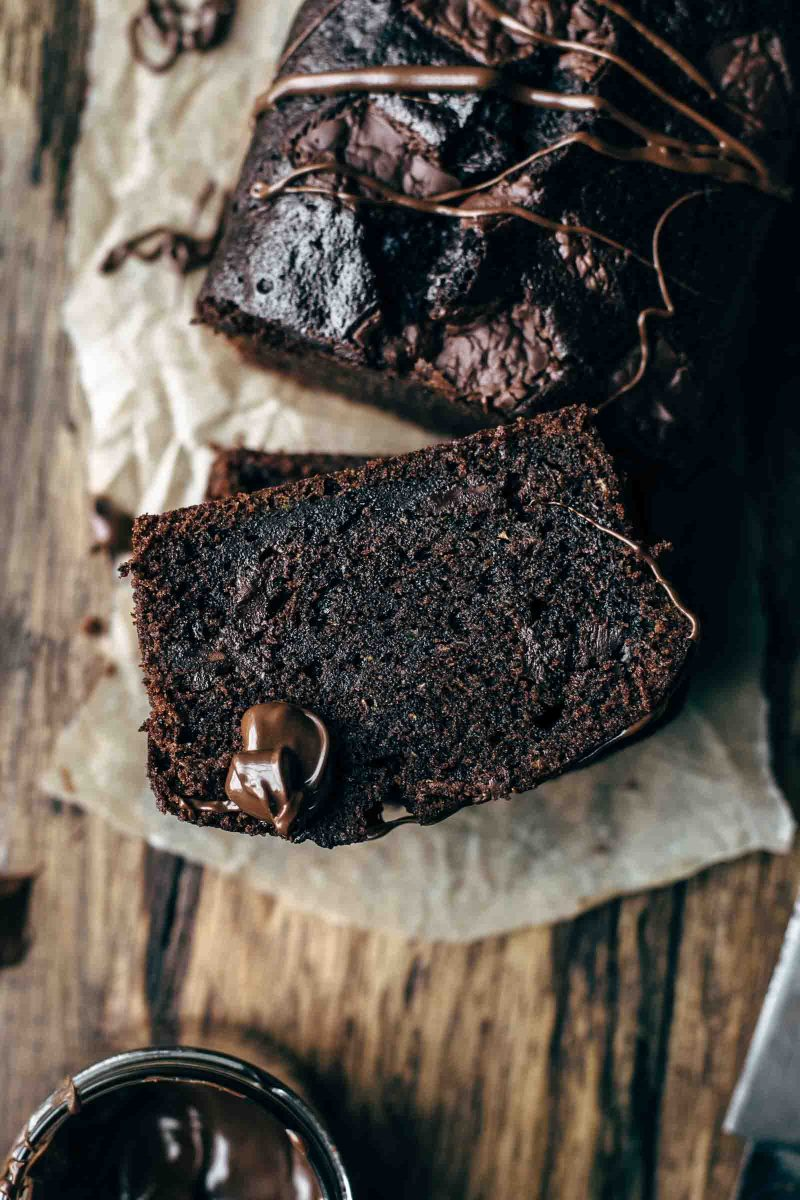 Rich and fudgy Chocolate Zucchini Bread