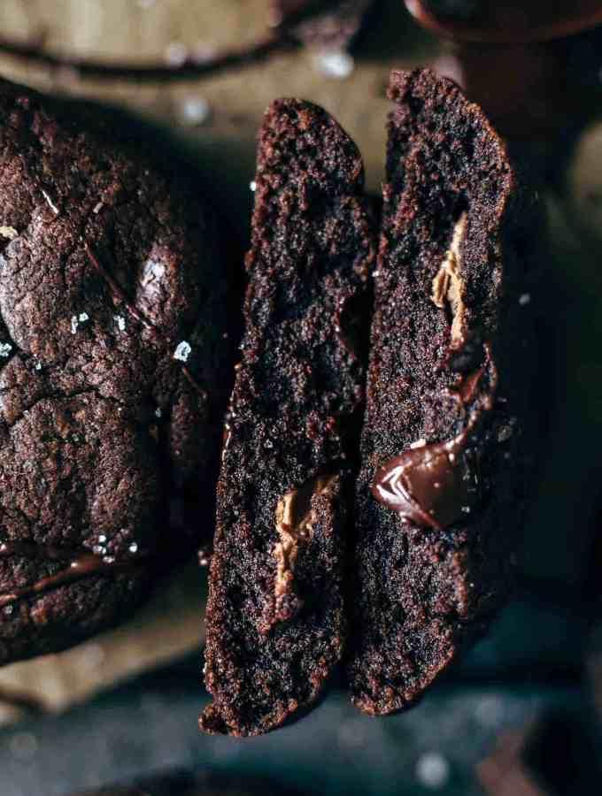 Super Fudgy Chocolate Brownie Cookies Recipe