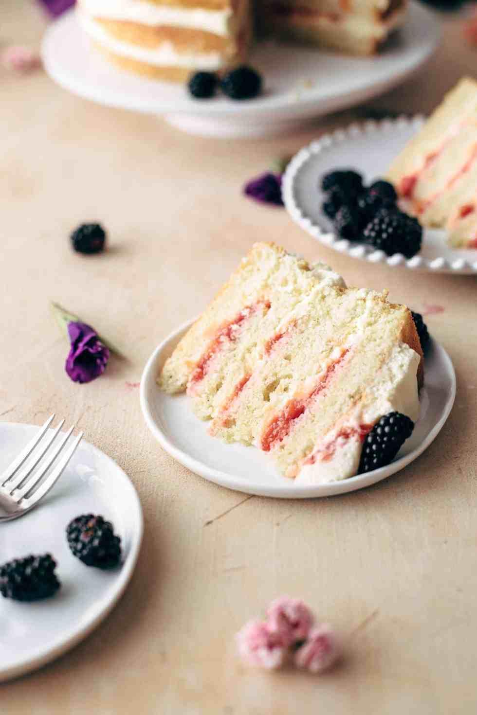 Peaches and Cream Cake Recipe